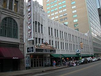 American Broadcasting-Paramount Theatres - A former Paramount theater in Denver.
