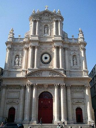 Saint-Paul-Saint-Louis - Facade of Saint-Paul-Saint-Louis