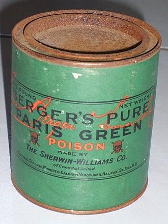 Paris green - Image: Paris Green (Schweinfurter Grün)
