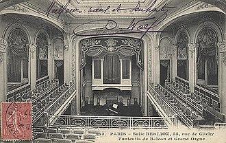 Théâtre de l'Œuvre - La salle Berlioz in 1907
