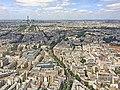 Paris vu depuis le 56ème étage de la tour Montparnasse, 16 juin 2017.jpg