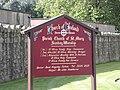 Parish of St. Marys information board - geograph.org.uk - 1497835.jpg