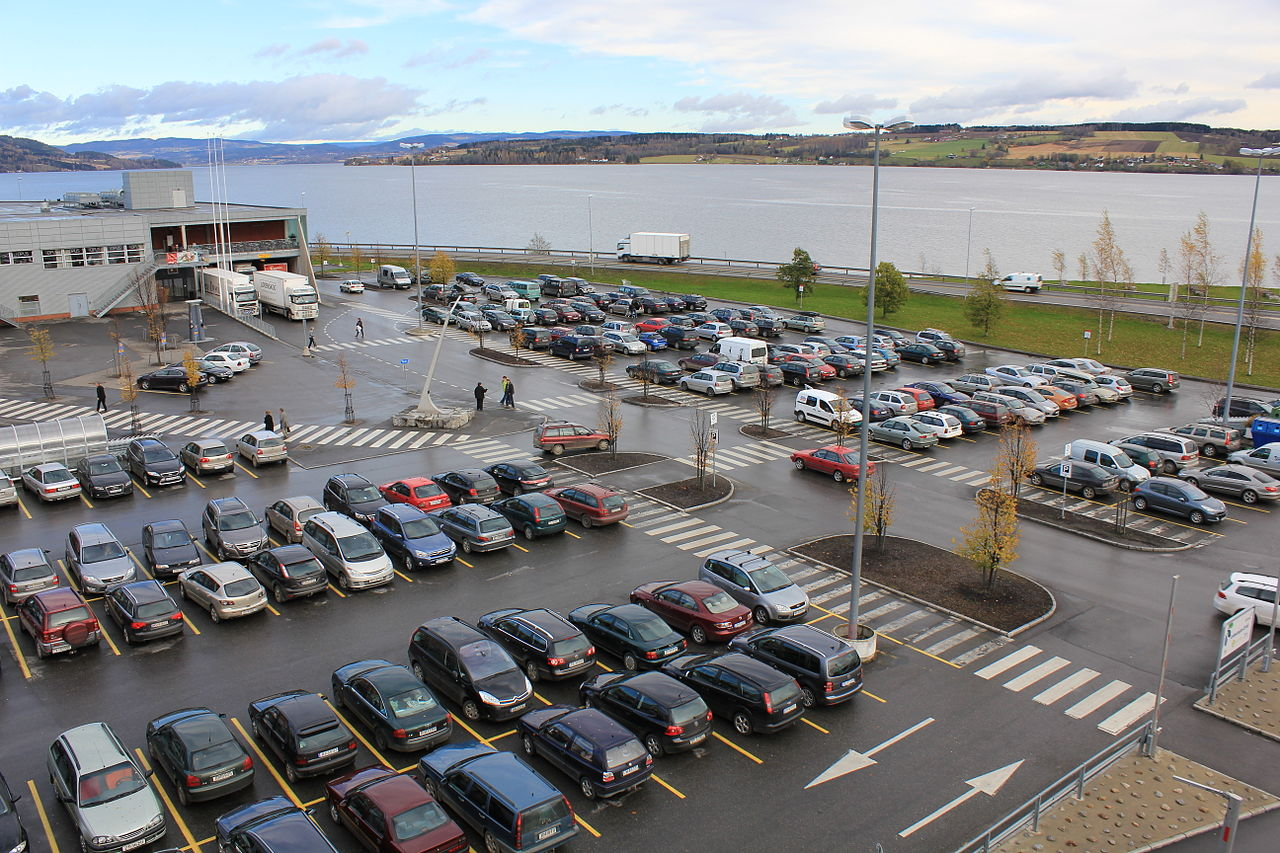 Car Park Layout Homelands Retail Park
