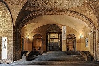Palazzo della Pilotta building in Emilia-Romagna, Italy