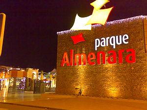 Parque Almenara - Letrero de la entrada.jpg