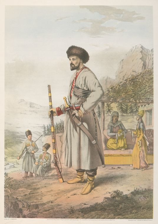 Parsons. Circassian Warrior. 1862