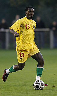 Pascal Feindouno Guinean international footballer