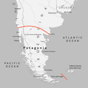 Patagonia - Patagonia, as usually defined.