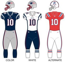 Dresy New England Patriots