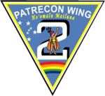 Patrol and Reconnaissance Wing 2 (US Navy) insignia 2016.png