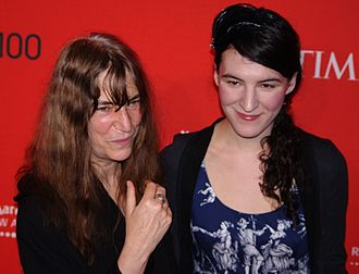 Patti Smith - Smith with her daughter Jesse Smith at the 2011 Time 100 gala