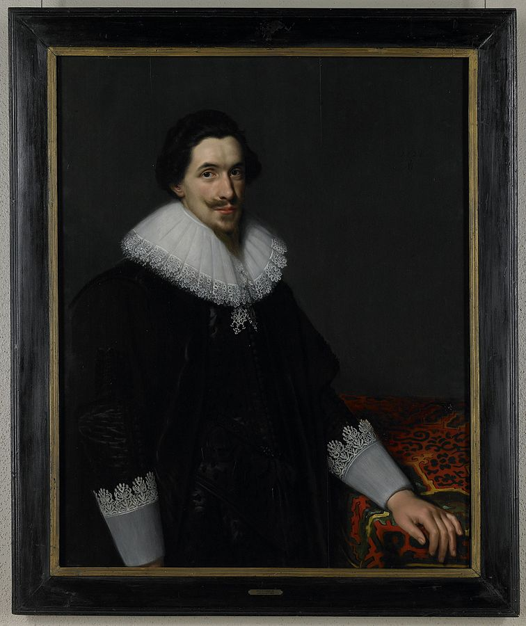 Portrait of Lucas van Voorst (1590-1669)