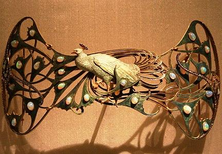 Peacock Broche - René Lalique