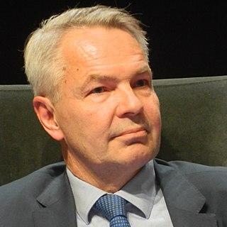 Pekka Haavisto Finnish politician and minister for foreign affairs