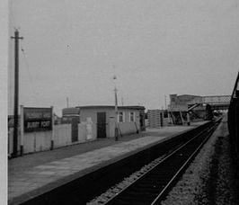 Pembrey and Burry Port railway station, Wales in 1971.jpg