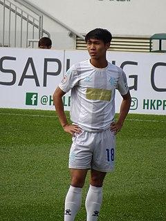 Peng Lin Lin Hong Kong footballer