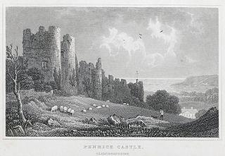 Penrice castle, Glamorganshire