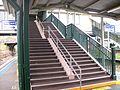 Penshurst railway station exit stairs.jpg