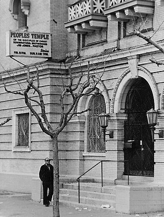 Peoples Temple - Peoples Temple headquarters, 1959 Geary Blvd., San Francisco, 1978