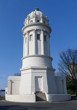 Pepper Pot, Brighton - The building from the south, looking along Tower Road