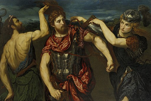 Perseus Armed by Mercury and Minerva - Paris Bordone - Google Cultural Institute
