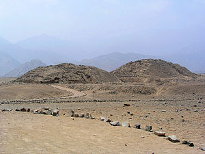 Andean preceramic - The Pyramids of Caral