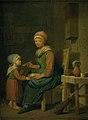 Peter Cramer - En bondekone, som giver sin datter noget at spise - KMS1020 - Statens Museum for Kunst.jpg