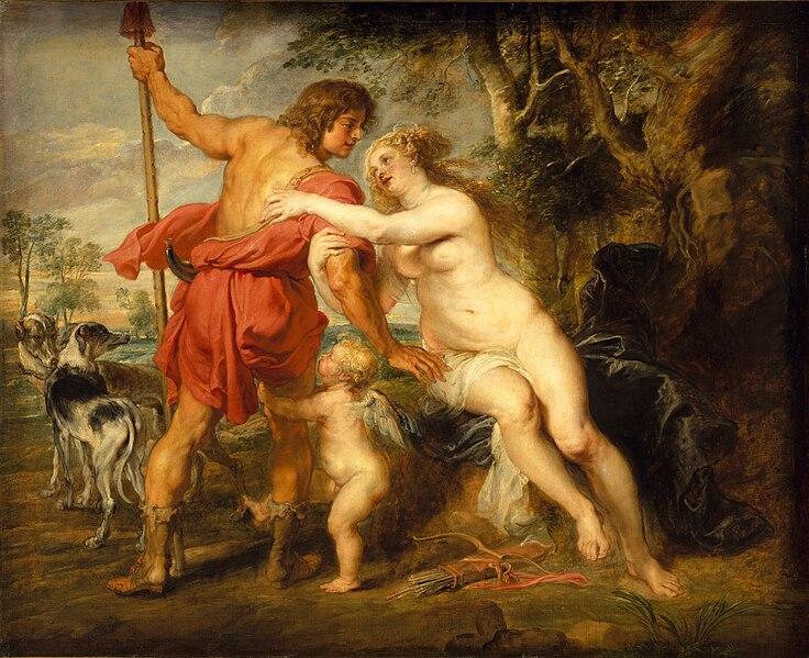 Ficheiro:Peter Paul Rubens - Venus and Adonis.jpg