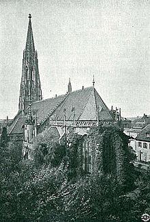 Fotografie Heidelberg peterskirche heidelberg