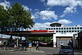 Petrol station on Wood Lane in London Borough of Hammersmith and Fulham, spring 2013.jpg