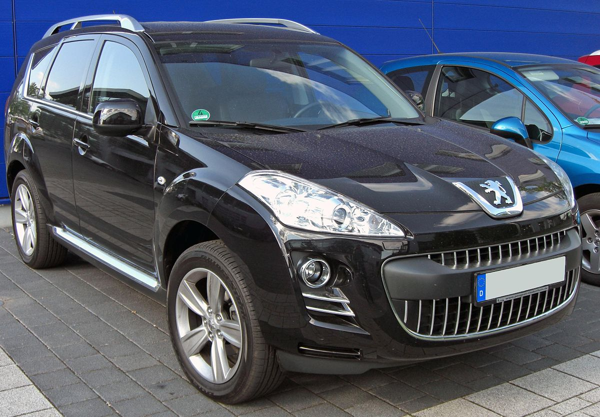 Peugeot 4007 – Wikipedie