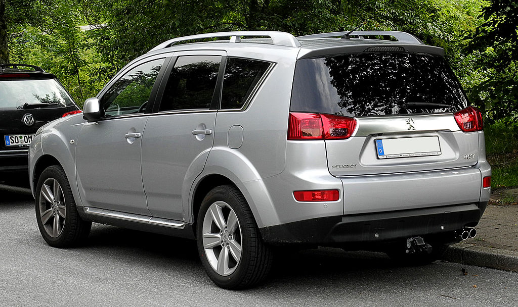 file peugeot 4007 hdi fap 155 platinum heckansicht 15 juni 2011 w wikimedia. Black Bedroom Furniture Sets. Home Design Ideas
