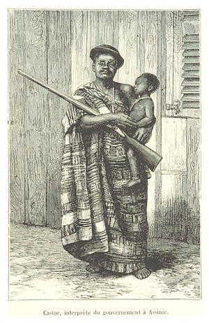 Assinie-Mafia - Castor: a government interpreter at Assinie in 1892