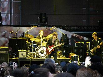 Phantom Planet - Phantom Planet performing in August 2008