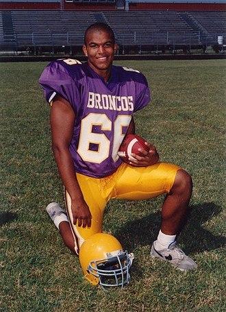 Phil Armour - Armour Senior Year at Denton High School, Aug.1994