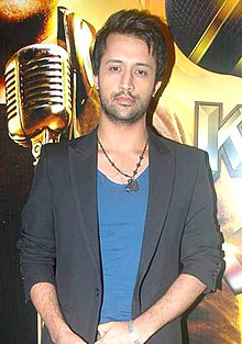 Photo Of Atif Aslam From The Himesh and Atif Aslam at the launch of Sahara One's new show.jpg