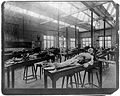 Photograph; the dissecting room, Cambridge, 1888 Wellcome L0002687.jpg