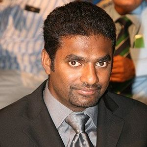 Muttiah Muralitharan - Muralitharan at the CEAT Cricket Ratings Awards in February 2013