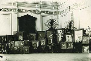 Ivana Kobilca - First solo exhibition of Ivana Kobilca in Ljubljana in 1889
