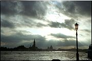 Photography of Venice at dusk