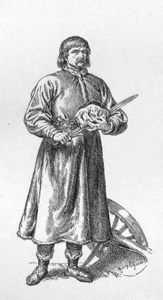 Piast the Wheelwright - Piast plate by Walery Eljasz-Radzikowski (1841–1905)