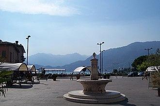 Pisogne - Central square in Pisogne