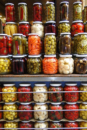 Pickled Preserves for Sale - Beyoglu District - Istanbul - Turkey (5719101647).jpg