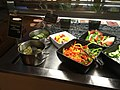 Pickles and vegetables in the breakfast buffet (30735169308).jpg