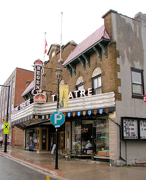 Picton, Ontario - Historic theatre in Picton