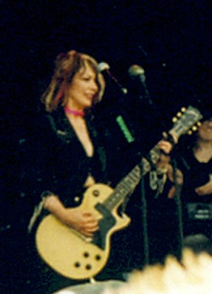 Nancy Wilson (rock musician) - Wilson at the 2004 Sweden Rock Festival