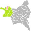 Pierrefitte-sur-Seine (Seine-Saint-Denis) dans son Arrondissement.png