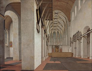 Interior of Saint John's Church, Utrecht