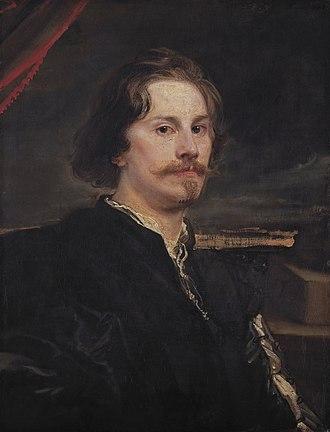 Pieter Soutman - Portrait of Pieter Soutman by Anthony van Dyck (1620-1621)
