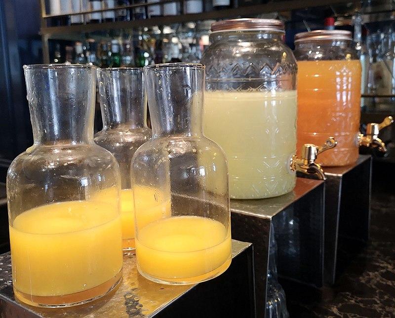 מיץ לארוחת הבוקר